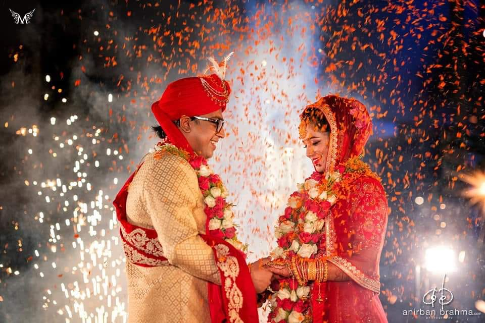 Bride and Groom of Meraj