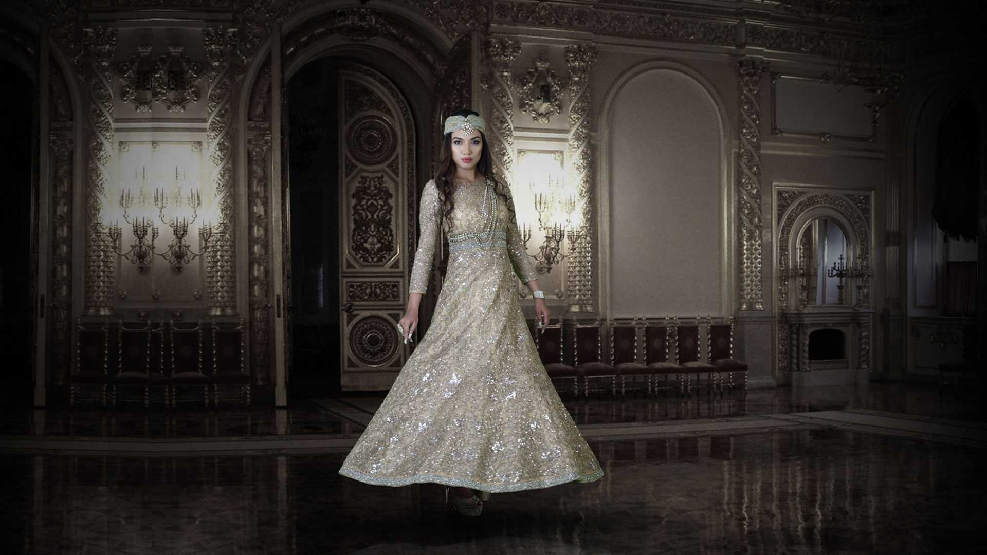 The Unique Colored Bridal Outfits from Our Bridal Collection