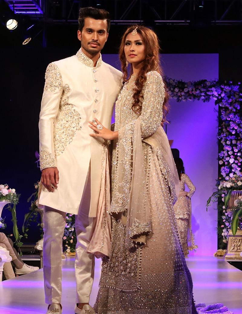 Ravishing Couple In Indo-Western