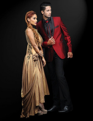 Stylish Couple In Western Outfit