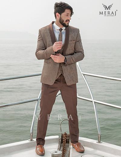Brindled Brown Suit