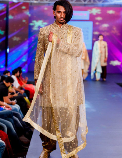 Intricate Embroided Sherwani