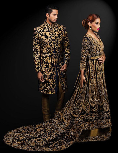 Western Style Wedding Wear