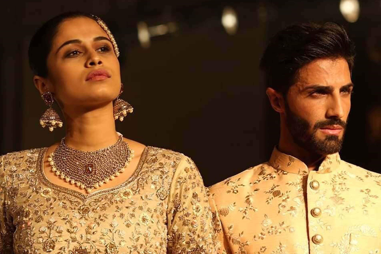 Meraj ek pehchaan Participated at Bangalore Times Fashion Week 2018