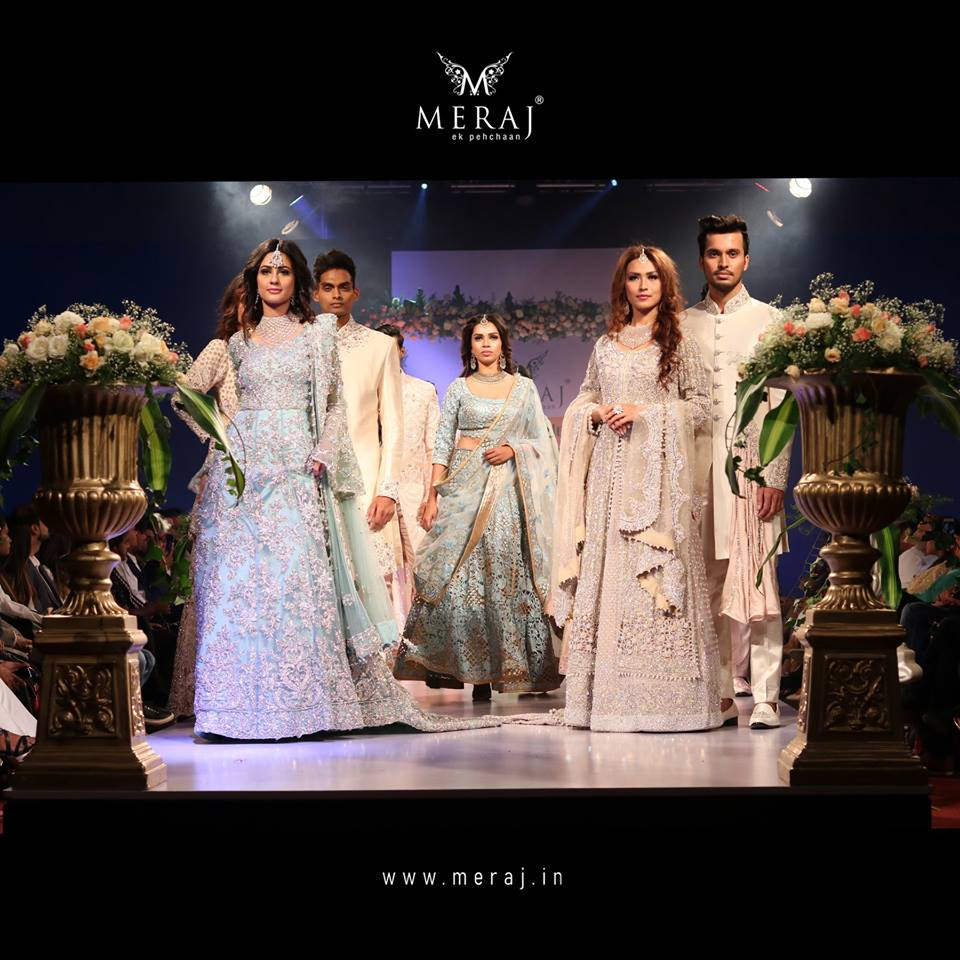 Wedding extravaganza redefined by Meraj Couple Couture from Bangalore Fashion Week